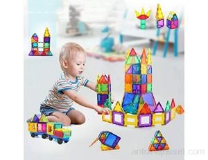 Ensemble De 60 Pièces Blocs De Construction Magnétiques Jeux De Construction Magnétiques Blocs De Construction Jouets Très adapté pour la Famille l'école la garderie