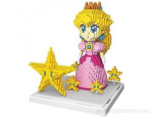 1484 + PCS Mini Mini Model BOYENS Blocs Series PÊCHES Princess Dessin animé Anime Figurines assemblées Brique Toys éducatifs pour Enfants