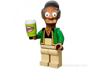 LEGO - Mini figurine Apu Nahasa Peema Petilion de la série The Simpsons - 71005