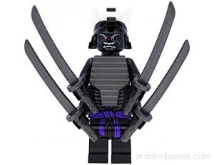 LEGO Ninjago Figurine Seigneur Garmadon Legacy avec 4 bras et épées