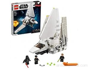LEGO 75302 StarWars LaNavetteimpériale Jeu de Construction Minifigurines de Luke Skywalker avec Son Sabre Laser et Dark Vador