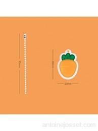 Journal mignon à 3 trous - Mini carnet de notes à feuilles volantes - Organiseur de classeur - Fournitures scolaires Kawaii couleur : Hu Luo Bo