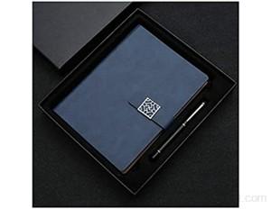 Notebook journal A5 Notebook taille 8.6 x 5 9in cahier rétro épais et simple pour les étudiants journal d'apprentissage de colle blanc journal de journal couleur: bleu ciel taille: boîte-cadeau