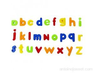 KingbeefLIU Jouet Multicolore Numéros Magnétiques Alphabet Réfrigérateur Aimant Apprentissage éducation Enfants Jouet Lettre Minuscule#