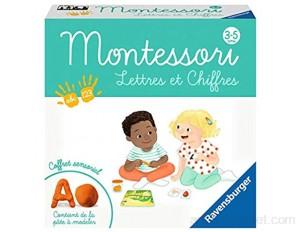 Ravensburger- Montessori-Lettres et Chiffres Jeu Educatif 20805