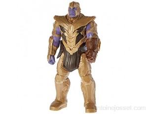 Marvel Avengers – Figurine Marvel Avengers Endgame Titan Deluxe – Thanos - 30 cm - Jouet Avengers