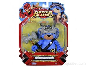 Power Players Figurine Articulée 12 cm Barbarours 10 points d'articulation & Accessoires Jouet pour enfants dès 4 ans PWW017