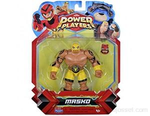 Power Players Figurine Articulée 12 cm Masko 10 points d'articulation & Accessoires Jouet pour enfants dès 4 ans PWW015