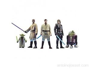 Star Wars – Edition Collector – Pack de 5 Figurines articulées Ordre Jedi - 9 5 cm