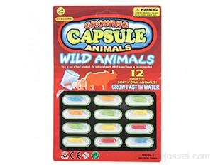 Strety Magic Grow Capsule Capsules Magic Grow Jouet Grandir Dans L'eau Inclure Zoo Animaux De Ferme Mer Jeux Éducatif Plus Grand Dans L'eau innate
