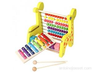 Abacus multifonctionnel instrument en bois préscolaire calcul pour enfants cadeaux tout-petits