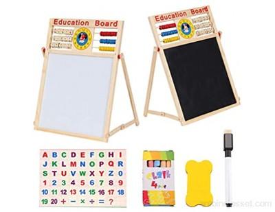 Wawogic Support d\'apprentissage Multifonction Abacus Jouets Montessori en Bois comptage Tableau de Connaissances Jouets mathématiques éducatifs précoces pour Enfants Cadeau