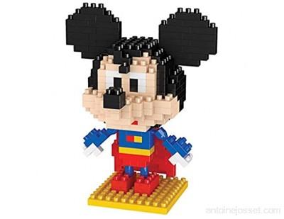 Blocs de Construction Diamond Mini Set 7 Types Belle Figure Disney Modèle 3D Puzzle Anniversaire Cadeaux d\'anniversaire pour Enfants Adultes-C