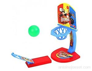 Verliked Jouet éducatif en forme de tablette de basket-ball pour enfant jouet éducatif et amusant pour le bureau jouet interactif