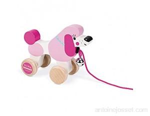 Janod - J08217 - My Dog - Caniche à promener bois