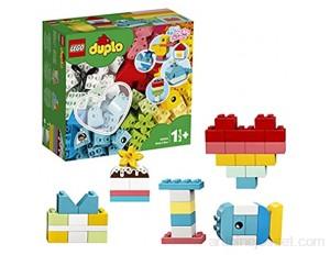 LEGO Duplo 10909 Classic La Boîte Coeur Premier Set Jouet Educatif Briques de Construction pour Bébé 1 an et Demi