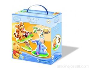 Clementoni - 12493 - Jeu Educatif - Premier Age - Baby Classic - EduBaby - Winnie Où Vivent-ils ?