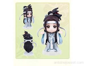 Xiaojie [Prévente complète] Wei Wuxian Lan Wangji modèle d'anniversaire du fondateur de la route magique Q version de l'animation manuelle autour de la véritable