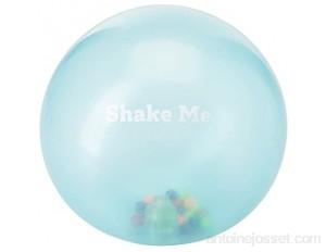 BSM Edushape- Ballon Souple Transparent Arc en Ciel Jouet D'Eveil Ed 705373