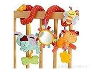 StillCool Jouets suspendus en forme de spirale pour bébé bébé enfant berceau jouet à suspendre en spirale pour berceau poussette poussette landau bébé enfant