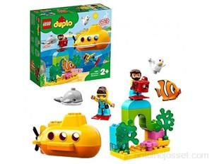 LEGO 10910 Duplo WildAnimals L'Aventureensous-Marin- Jouet pour Le Bain avec Bulles d'air pour Enfants de 2 Ans