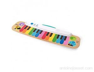 Baby Einstein Hape Clavier Électronique en Bois pour Tout-Petit Notes & Keys Magic Touch dès 12 Mois