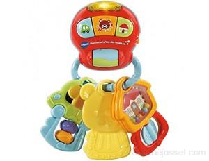 VTECH- HOCHET P'TITES CLES Magiques Baby Jouet Premier Age 80-505105 Multicolore - Version FR