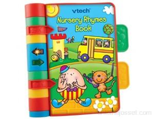 VTech – V.Tech Baby – Nursery Rhymes Book – Mon Livre de Comptines Version Anglaise