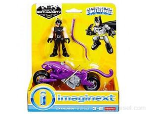 DC – Catwoman et sa Moto – Mini Figurine et Véhicule