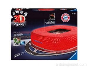 Ravensburger - Puzzle 3D - Building - Stade Allianz Arena illuminé - 12530