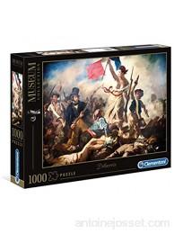 Clementoni- Delacroix Liberty Leading The People 39549 Multicolore