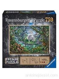 Ravensburger- Escape Puzzle 759 pièces-La Licorne Adulte 4005556165124