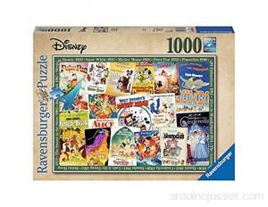 Ravensburger- Puzzle 1000 Pièces Posters Vintage Disney Puzzle Adulte 4005556198740