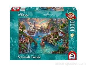 Schmidt Kinkade: Disney Peter Pan Jigsaw Puzzle 1000 pièces