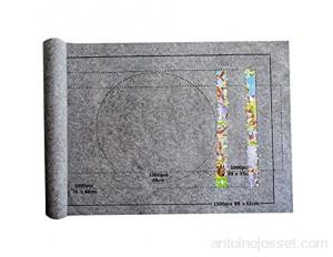 Gaoominy Puzzles Tapis Puzzle Rouleau Feutre Tapis Tapis de Jeu Grand pour Jusqu'à 1500 PièCes Accessoires de Puzzle
