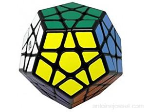 Ludokubo Qiheng megaminx qiyi Cube Dodecahedron - Noir