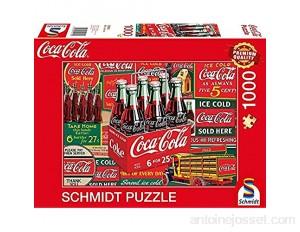 Schmidt Spiele- Puzzle Coca Cola Ours Polaire 1000 pièces 59914