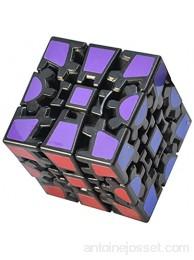 TOYESS 3D Gear Cube Puzzle Cube Magique de Vitesse Speed Cube Cadeau Parfait pour Les Enfants et Adultes