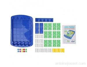 Zerodis Bricolage Puzzle Jouet Jeu de pensée logique Jouet Labyrinthe Apprentissage éducatif Esprit entraînement Jouet Jeu pour Enfants Enfant en Bas âge#1