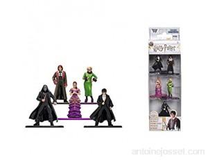 Jada - Harry Potter - Set 5 Pièces Figurines - Personnages en Métal 4cm - 253180003