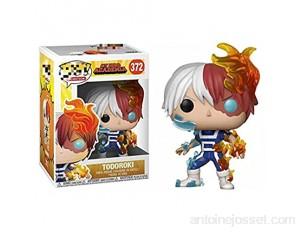 10 Cm Anime Mon Héros Académique Pop 372 # Todoroki Shoto Figure Modèle Enfants Jouets Figurines avec Boîte