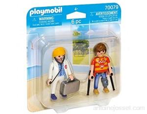 Playmobil - Médecin et Patient - 70079