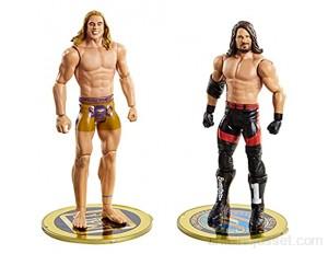 WWE coffret Duel de Champions figurines articulées de catch Eddie Guerrero & Kurt Angle en tenue de combat jouet pour enfant GVJ21